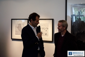 Peter Mathis – Vernissage - Atelier Christian Jungwirth