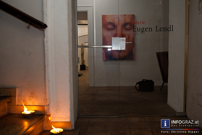 """THE GOD PROJECT"" in der Galerie Eugen Lendl - 001"