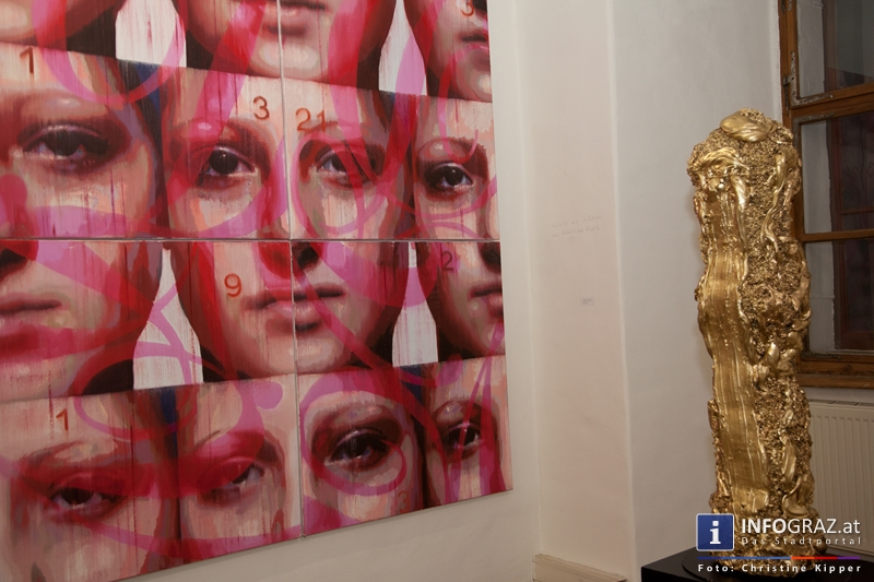 """THE GOD PROJECT"" in der Galerie Eugen Lendl - 006"