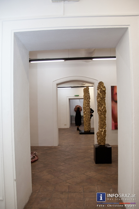 """THE GOD PROJECT"" in der Galerie Eugen Lendl - 013"