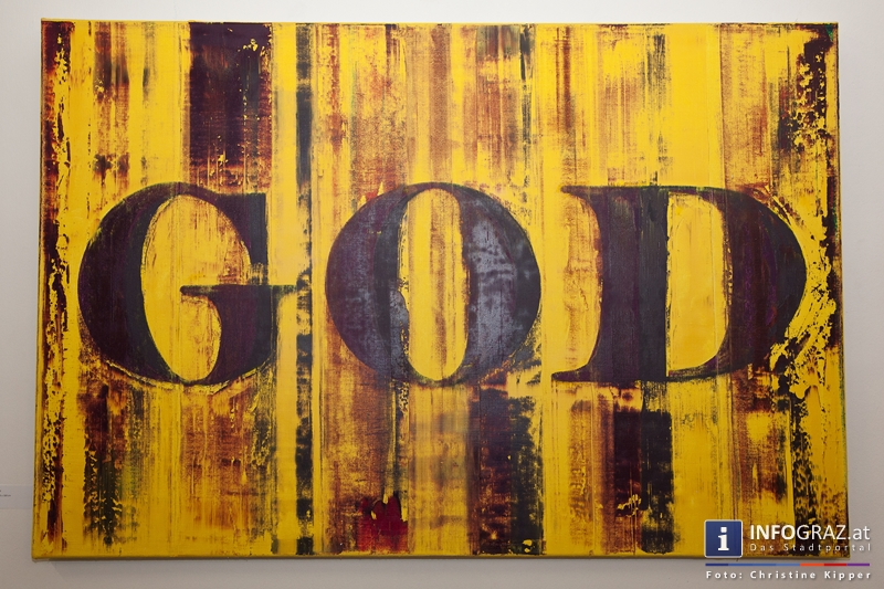 """THE GOD PROJECT"" in der Galerie Eugen Lendl - 045"