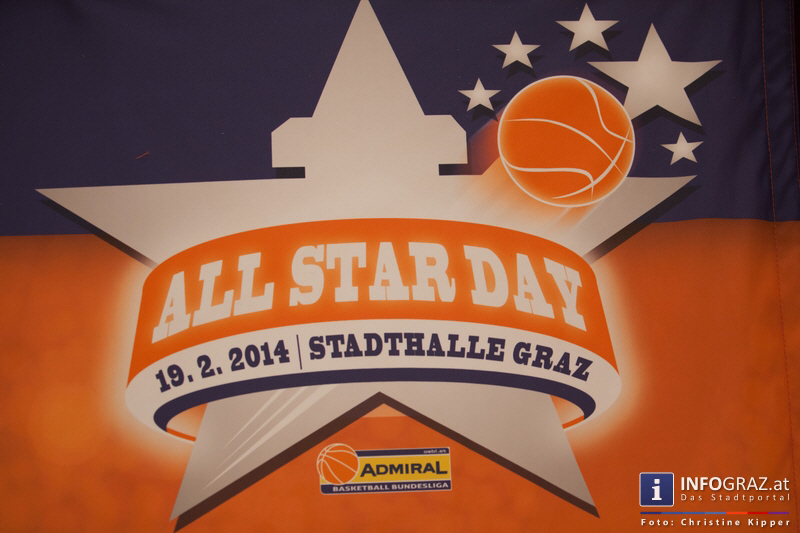 ALL STAR DAY 2014 in der Stadthalle Graz am 19. Februar 2014 - Graz als Zentrum des Basketballs - 005