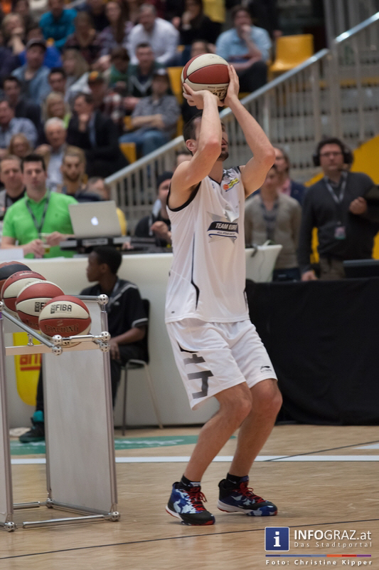 ALL STAR DAY 2014 in der Stadthalle Graz am 19. Februar 2014 - Graz als Zentrum des Basketballs - 097