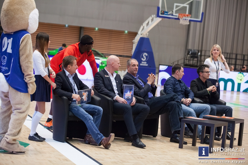 ALL STAR DAY 2014 in der Stadthalle Graz am 19. Februar 2014 - Graz als Zentrum des Basketballs - 111