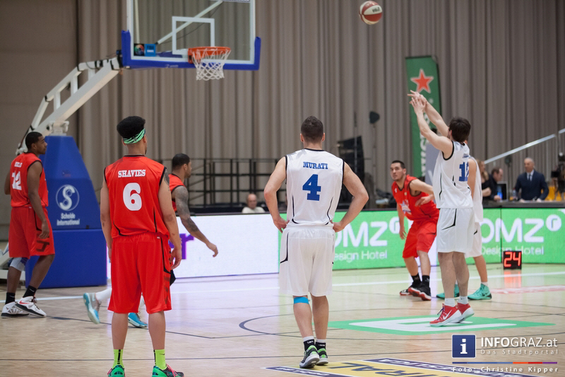 ALL STAR DAY 2014 in der Stadthalle Graz am 19. Februar 2014 - Graz als Zentrum des Basketballs - 137