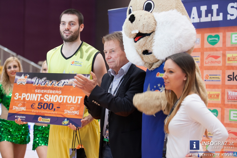 ALL STAR DAY 2014 in der Stadthalle Graz am 19. Februar 2014 - Graz als Zentrum des Basketballs - 151