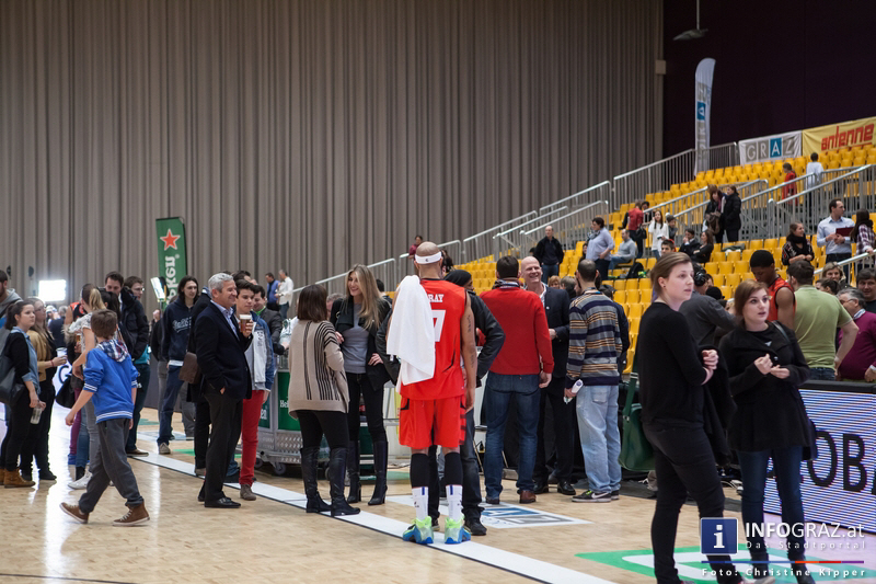 ALL STAR DAY 2014 in der Stadthalle Graz am 19. Februar 2014 - Graz als Zentrum des Basketballs - 161