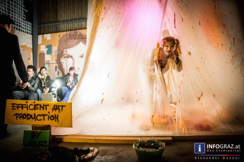 Mad circus project 2014 im Kunst- und Kulturzentrum Papierfabrik am 26.9.2014 - 115
