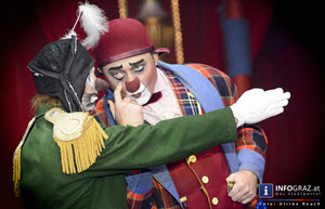 Clowns,Zirkus,circus roncalli graz,time is honey,, 2.11.2014,bernhard paul,poesievoll,traditioneller circus