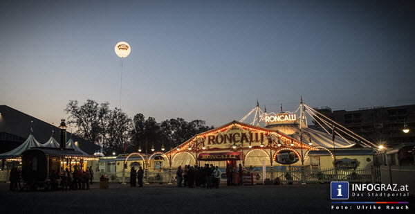 circus roncalli graz,time is honey,2.11.2014,bernhard paul,poesievoll,traditioneller circus