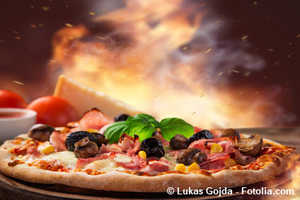 Pizza Lieferservice: Pizzamann, Pizza Taxi, Pizza on Tour...