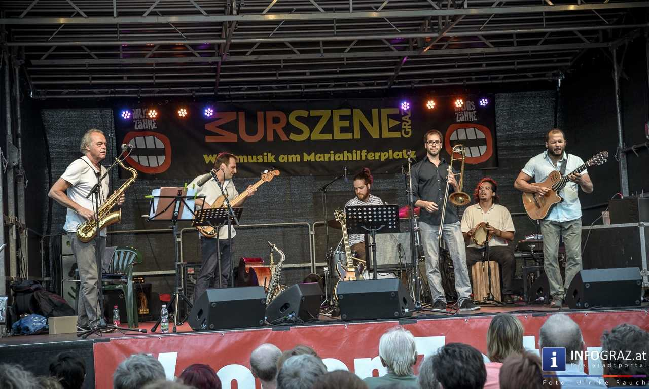 Karlheinz Miklin - 'Jazz via Brazil' am 4. August 2016 am Mariahilferplatz - 001
