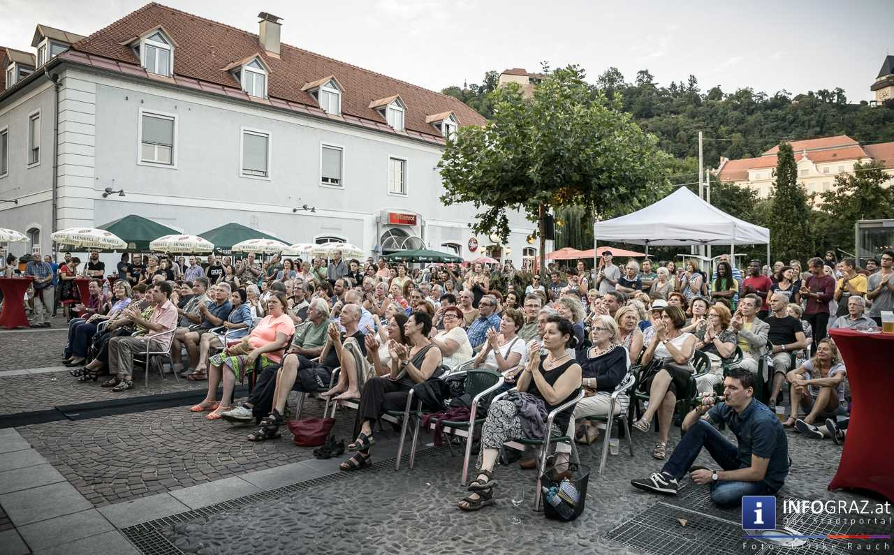 Karlheinz Miklin - 'Jazz via Brazil' am 4. August 2016 am Mariahilferplatz - 012