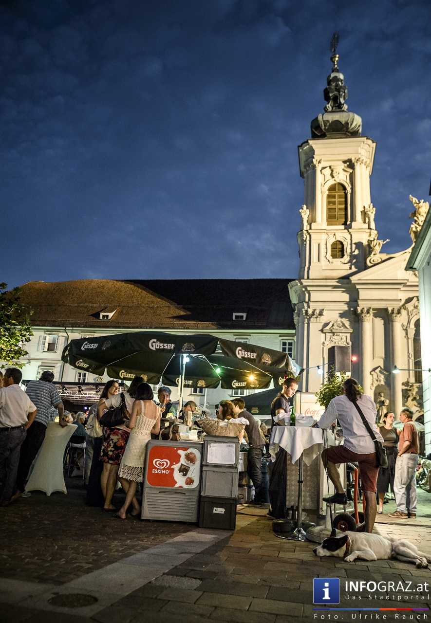Karlheinz Miklin - 'Jazz via Brazil' am 4. August 2016 am Mariahilferplatz - 033