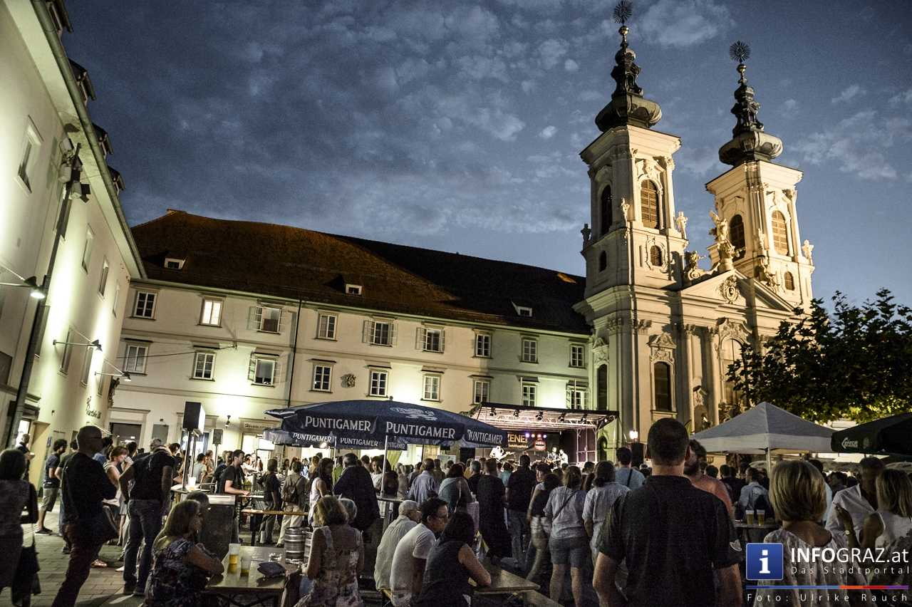Karlheinz Miklin - 'Jazz via Brazil' am 4. August 2016 am Mariahilferplatz - 034