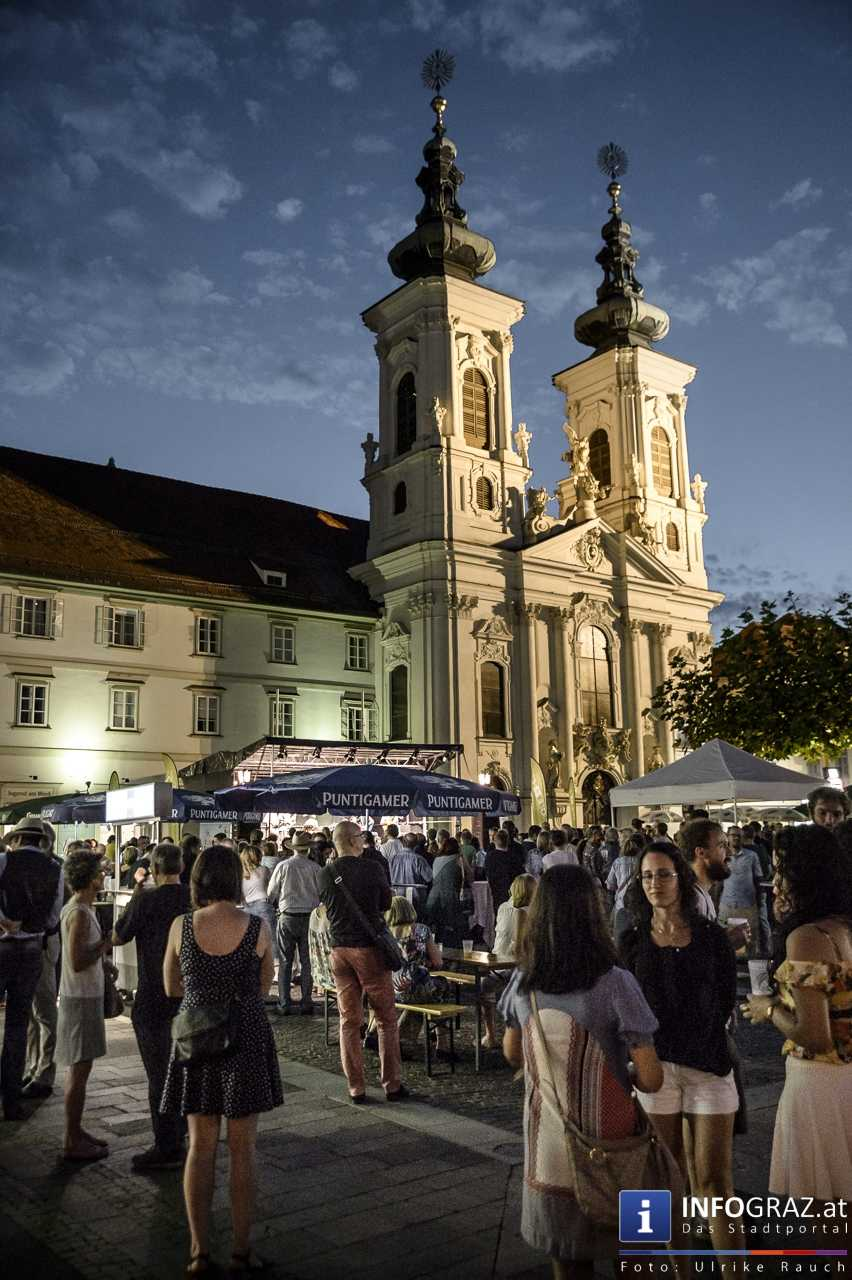 Karlheinz Miklin - 'Jazz via Brazil' am 4. August 2016 am Mariahilferplatz - 035