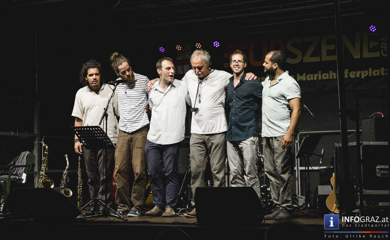 Karlheinz Miklin - 'Jazz via Brazil' am 4. August 2016 am Mariahilferplatz - 049