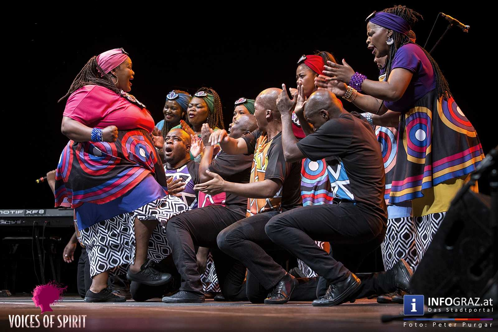 soweto gospel choir internationales chorfestival statdthalle graz voices of spirit eroeffnung festivals 2016 060