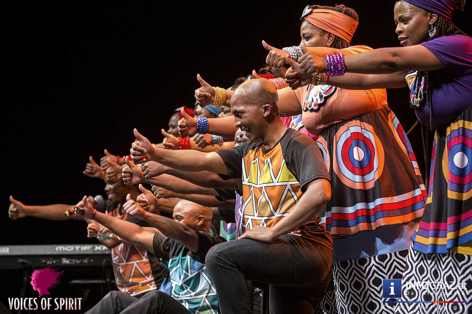 soweto gospel choir internationales chorfestival statdthalle graz voices of spirit eroeffnung festivals 2016 073