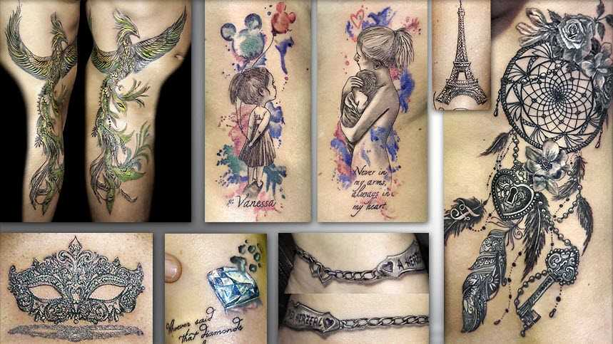 Tattoos - bodypainting