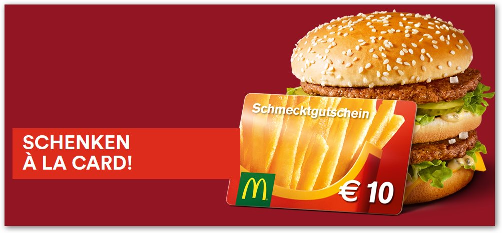 aktion bei mcdonalds